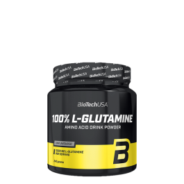 BioTech, L-Glutamin, 240g