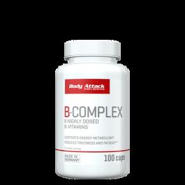 Body Attack, Vitamin B-Complex, 100 Kapseln