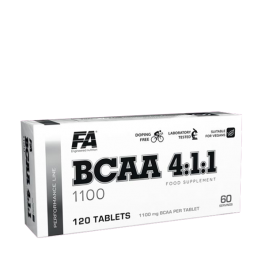 FA Nutrition, Performance BCAA 4:1:1, 120 Tabletten