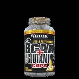 Weider, BCAA + Glutamin, 180 Kapseln