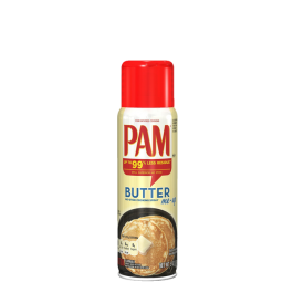 PAM Cooking Spray, Butter, 141g