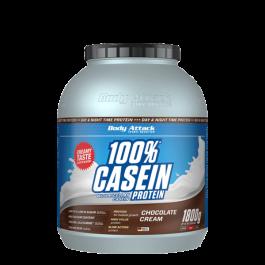 Body Attack, 100% Casein Protein, 1800g