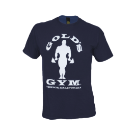 Golds Gym, Classic Silhouette T-Shirt, Navy