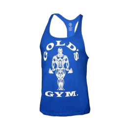 Golds Gym, Classic Stringer Tank Top, Royal blau
