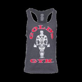 Golds Gym, Classic Stringer Tank Top, dunkelgrau