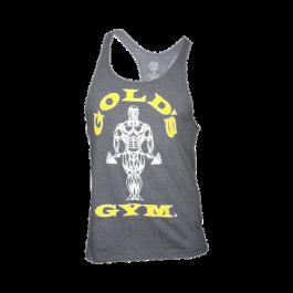 Golds Gym, Classic Stringer Tank Top, grau