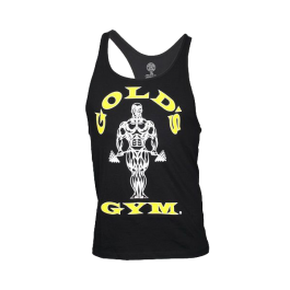 Golds Gym, Classic Stringer Tank Top, schwarz