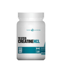 Tested Nutrition, Creatine HCL, 120 Kapseln