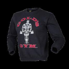 Golds Gym, Crewneck Sweater -Dunkelgrau