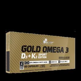 Olimp, Omega 3 D3 + K2, 60 Kapseln