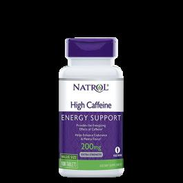 Natrol, High Caffeine, 100 Tabletten