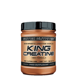 Scitec Nutrition, King Creatine, 120 Kapseln