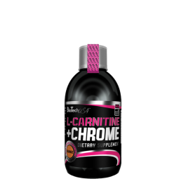 BioTech, L-Carnitine + Chrome Liquid Concentrate, 500ml