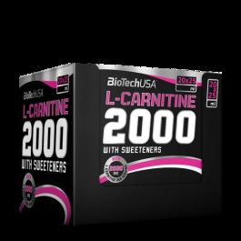 BioTech, L-Carnitine Liquid 2000, 20 x 25ml