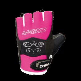 Chiba, Lady Diamond Fitnesshandschuh -Pink