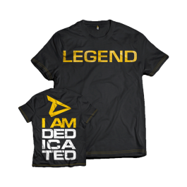 "Dedicated, T-Shirt ""Legend"""