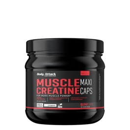 Body Attack, Muscle Creatine -Creapure, 240 Kapseln