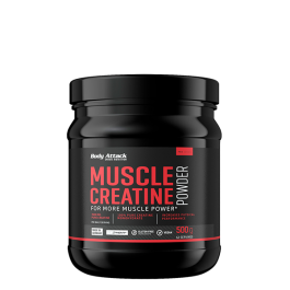 Body Attack, Muscle Creatine -Creapure, 500g