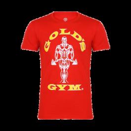 Gold´s Gym, Muscle Joe T-Shirt -Rot