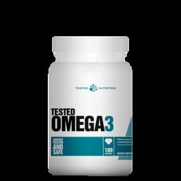 Tested Nutrition, Omega-3, 100 Kapseln