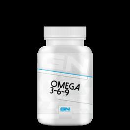 GN, Omega 3-6-9 Health Line, 120 Kapseln
