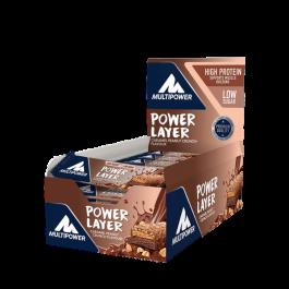 Multipower, Power Layer Protein Bar, 18 x 50g