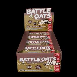 Battle Oats, Low Sugar Protein Flapjack Bar, 12 x 70g