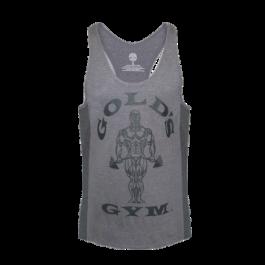 Gold´s Gym, Tonal Panel Stringer -Grey