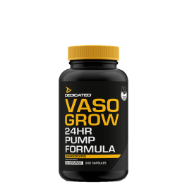Dedicated, Vaso-Grow, 200 Kapseln