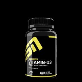 ESN, Vitamin D3, 120 Kapseln