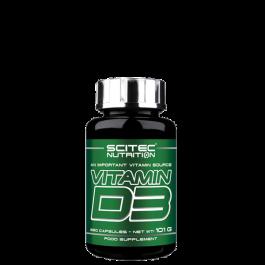 Scitec Nutrition, Vitamin D3, 250 Kapseln