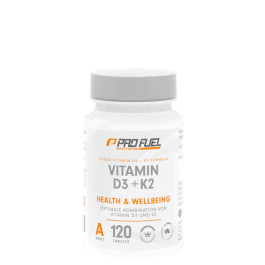 ProFuel, Vitamin D3 + K2, 120 Tabletten