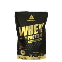 PEAK, Whey Concentrate, 1000g