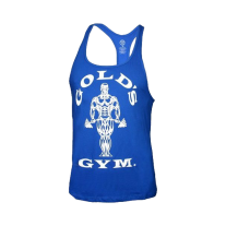 Golds Gym, Classic Stringer Tank Top, Royal Blue