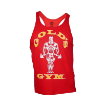 Golds Gym, Classic Stringer Tank Top, Rot