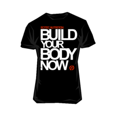 Scitec Nutrition, T-Shirt -Build Your Body Now