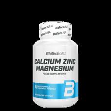 BioTech, Calcium Zinc Magnesium, 100 Tabletten