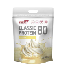 Got7 Nutrition, Classic Protein 80, 2000g