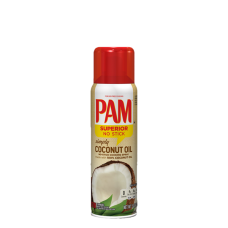 PAM Cooking Spray, Coconut Oil, 141g
