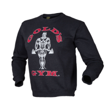 Golds Gym, Crewneck Sweater -Dunkelgrau