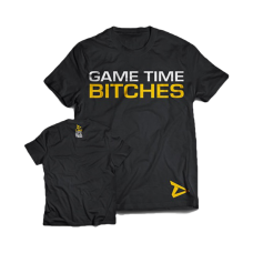 """Dedicated, T-Shirt """"Game Time Bitches"""""""
