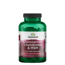 Swanson, Glucosamine, Chondroitin & MSM, 120 Tabletten