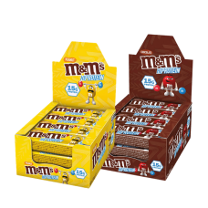 M&M´s, Hi-Protein Bar, 12 x 51g