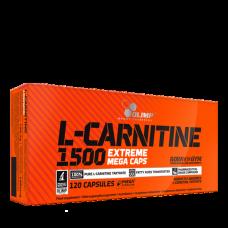 Olimp, L-Carnitine 1500 extreme Mega Caps, 120 Kapseln