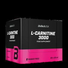 BioTech, L-Carnitine Liquid 3000, 20 x 25ml