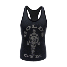 Gold´s Gym, Ladies Loose Fit Tank - Dunkelgrau