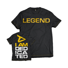 "Dedicated, T-Shirt ""Legend"""