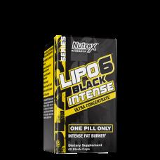 Nutrex, Lipo-6 Black Intense, 60 Kapseln