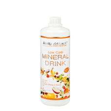 Body Attack, Low Carb Mineral Drink, 1000ml