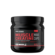 Body Attack, Muscle Creatine -Creapure, 240 Kapseln